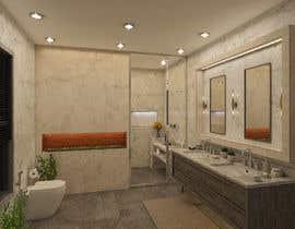 Nro 31 kilpailuun Master bathroom design käyttäjältä hararafi2020