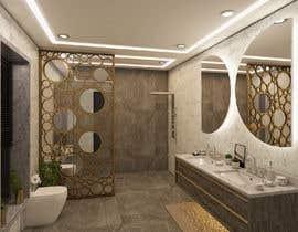Nro 37 kilpailuun Master bathroom design käyttäjältä hararafi2020