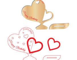 #29 dla Design two heart shapes vector design - SVG format, AI przez MoshiurRashid20