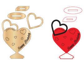 #30 dla Design two heart shapes vector design - SVG format, AI przez MoshiurRashid20