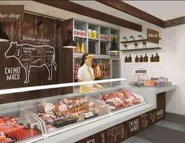 #38 for Butcher shop af ARTandFASHION