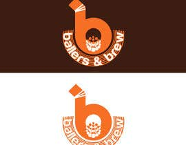 nº 732 pour Logo for a Donut and Boba shop par RAHIMMITU