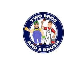 #33 для Logo for Two Bros And A Brush от huseynzadexeyal