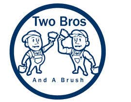 #36 для Logo for Two Bros And A Brush от mostafashedeed