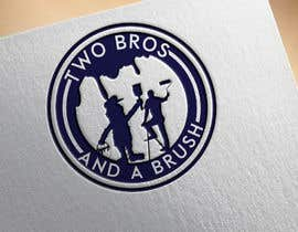 #22 для Logo for Two Bros And A Brush от jatika7265