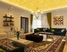 Nro 90 kilpailuun 3D Modern classic interior design living room käyttäjältä husni6465