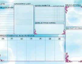 #35 for Design a calendar by essam1964117