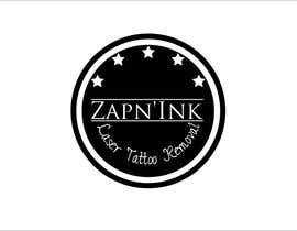 #47 for Design a Logo for Zapn'Ink Laser Tattoo Removal by mille84
