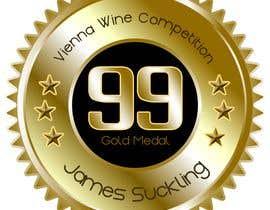 #17 untuk Design of points sticker for wine oleh luisraulag
