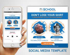 nº 42 pour Create Social Media Templates for Financial Independence Summit par TheCloudDigital