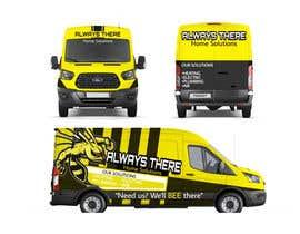 #65 for Vehicle Wrap Design for HVAC company af Rizwandesign7
