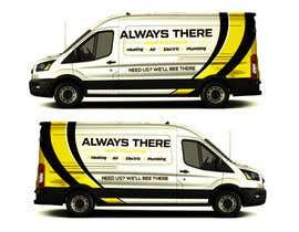 #71 for Vehicle Wrap Design for HVAC company af Rizwandesign7