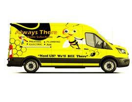 #78 for Vehicle Wrap Design for HVAC company af Rizwandesign7