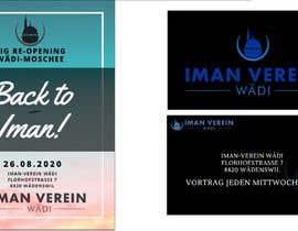 Nro 21 kilpailuun re-opening flyer and business cards for our mosque käyttäjältä Alia2029