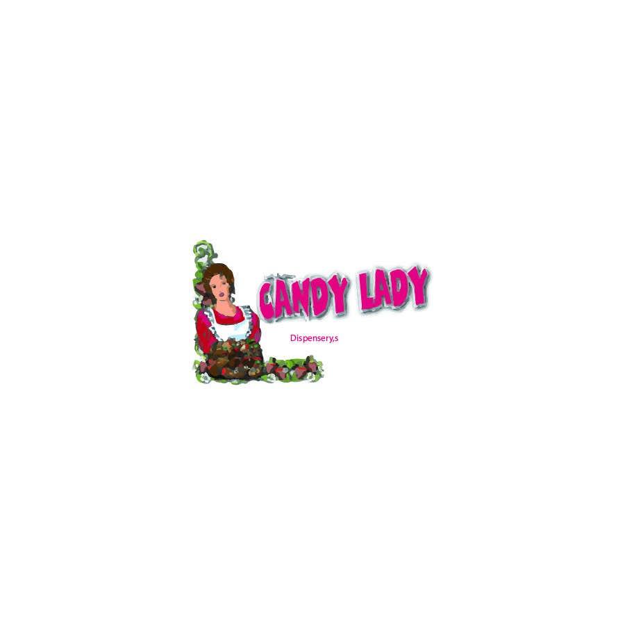 Kilpailutyö #                                        78                                      kilpailussa                                         Candy lady logo