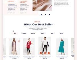 #19 для Bespoke Clothier Homepage Mock-Up от asu5a0ae85373caa