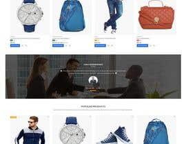 #23 для Bespoke Clothier Homepage Mock-Up от Nazmulhossen022