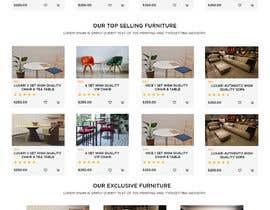 nº 10 pour Homepage Mock-Up for Amish Furniture Website par bappa85