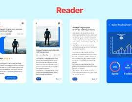#12 for UX/UI for mobile speed reading app by eidendiaz