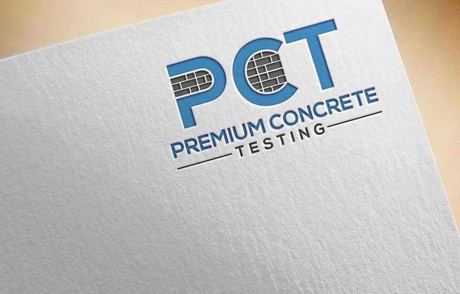 Contest Entry #                                        38                                      for                                         Design a Logo for a Concrete Testing Company