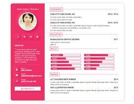 #89 for $15 per single page resume WEBSITE - Submit a quality responsive resume website and I might buy it by imadeddinelmk