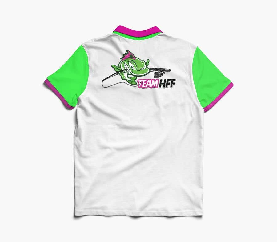 Contest Entry #                                        38                                      for                                         Team Fishing Shirt HFF