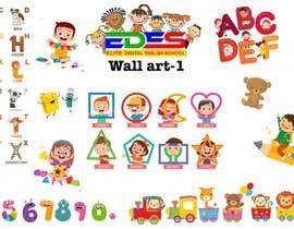 Nro 32 kilpailuun Design the walls of our primary school käyttäjältä AHippySoul