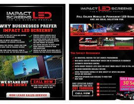 #34 for Design a Flyer for Impact LED Screens by doradodo