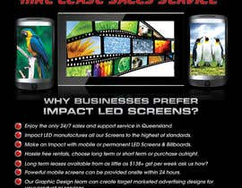#10 for Design a Flyer for Impact LED Screens by Rouqa