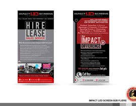 #6 pentru Design a Flyer for Impact LED Screens de către KilaiRivera