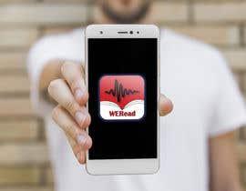 Nro 61 kilpailuun Design an App Logo. a Book review Podcast App called: WERead käyttäjältä nafiul2014