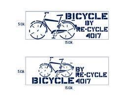 #10 untuk Make a stencil logo for bike charity. oleh artkrishna