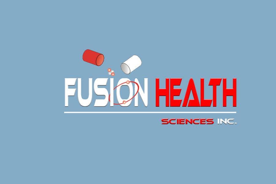 Конкурсная заявка №103 для Logo Design for Fusion Health Sciences Inc.