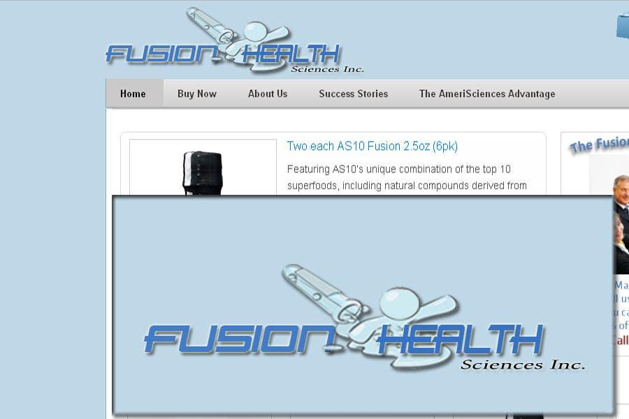Конкурсная заявка №81 для Logo Design for Fusion Health Sciences Inc.