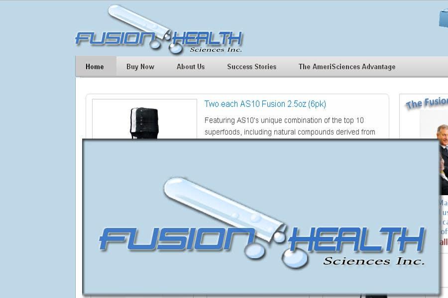 Inscrição nº 80 do Concurso para Logo Design for Fusion Health Sciences Inc.