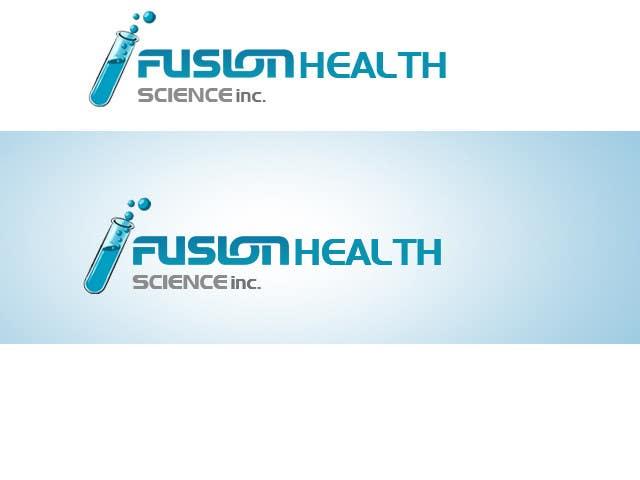 Конкурсная заявка №53 для Logo Design for Fusion Health Sciences Inc.
