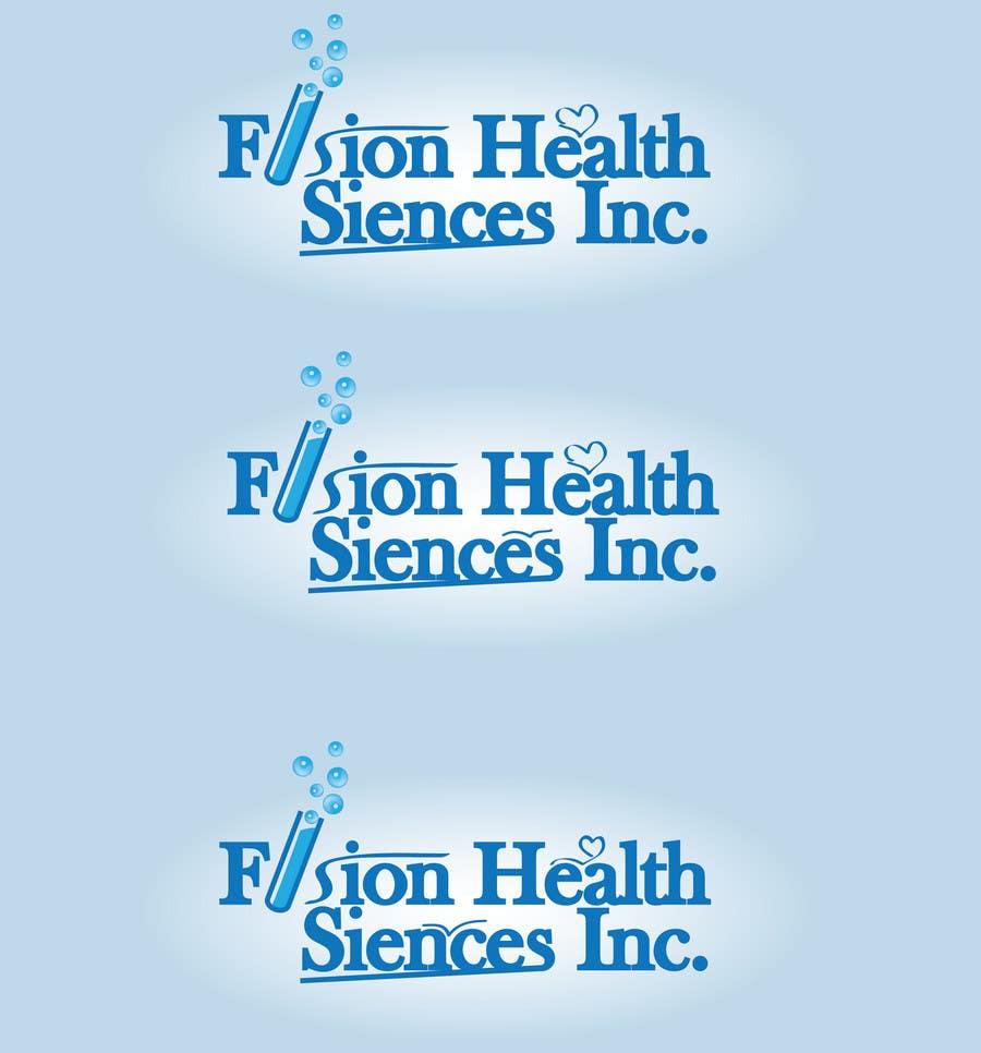 Inscrição nº 97 do Concurso para Logo Design for Fusion Health Sciences Inc.