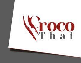 nº 94 pour Logo for crocodile leather products par usaithub