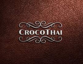 nº 216 pour Logo for crocodile leather products par salehakram342