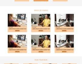 Nro 46 kilpailuun Web Design for Online Spanish Tutoring käyttäjältä bappa85
