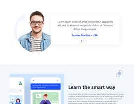 Nro 54 kilpailuun Web Design for Online Spanish Tutoring käyttäjältä GinoAlvaLeon1686