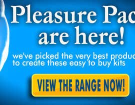 #15 for Design a Banner for my Adult Website (pleasure packs) by iulian4d