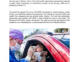 #23 для Write A Post About Fake Coronavirus Tests от ShamimShady