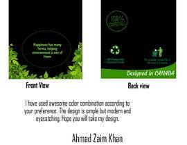 #15 for Design for a plastic bag af AhmadZaimkhan27