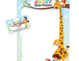 abhilashkp33 tarafından Daycare Letterhead and Business Card için no 252