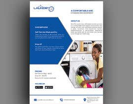#37 for Design an A5 flyer for a new Laundromat business by baduruzzaman