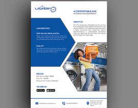 #39 for Design an A5 flyer for a new Laundromat business by baduruzzaman
