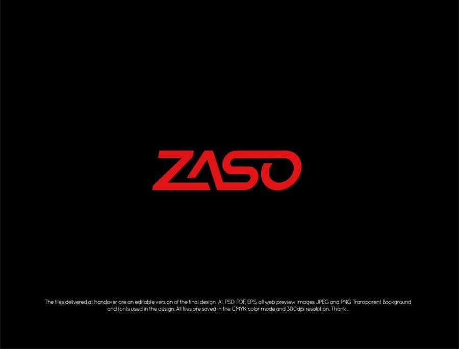 Penyertaan Peraduan #                                        215                                      untuk                                         Make me a logo with our brand name: ZASO