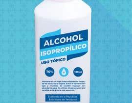 #56 para Diseño de etiqueta de Alcohol / Design label for alcohol (Serigrafia) de vmrdiez