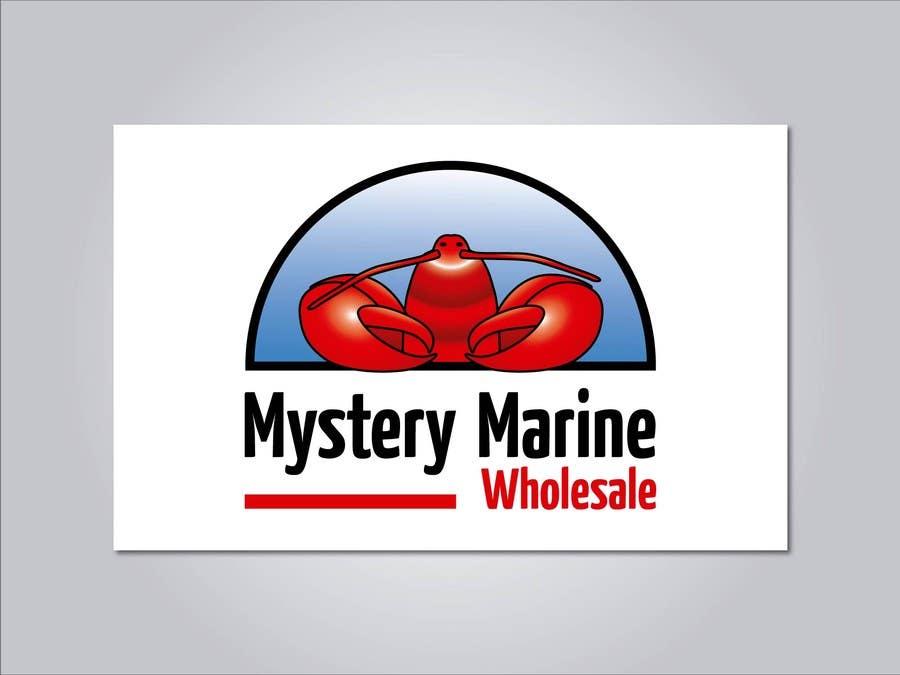 Kilpailutyö #                                        29                                      kilpailussa                                         Logo Design for Mystery Marine Wholesale